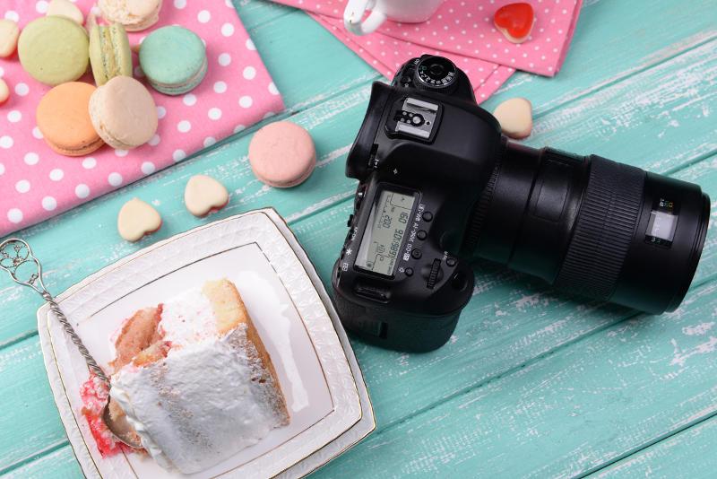 מדריך צילום עוגות