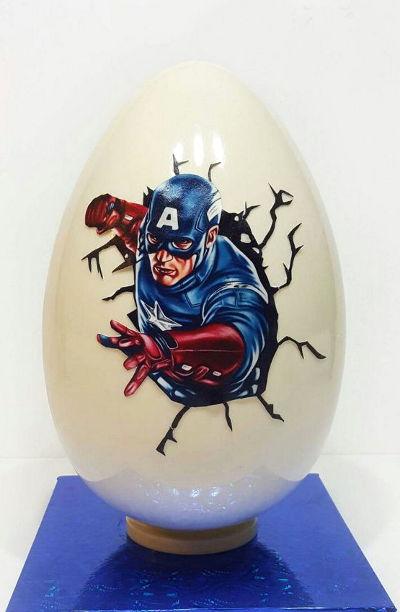 ביצת הפתעה קפטן אמריקה