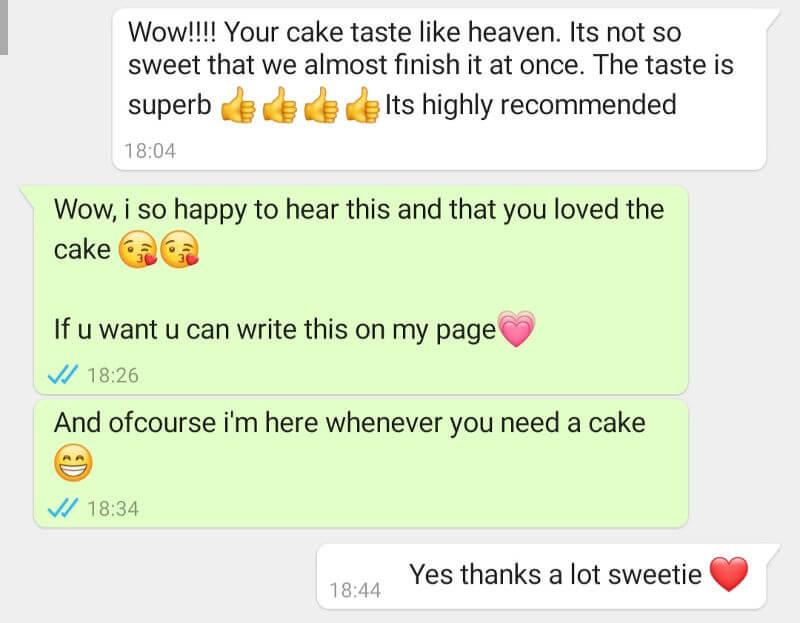 English cake review