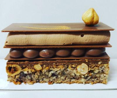 בר שוקולד ואגוזים