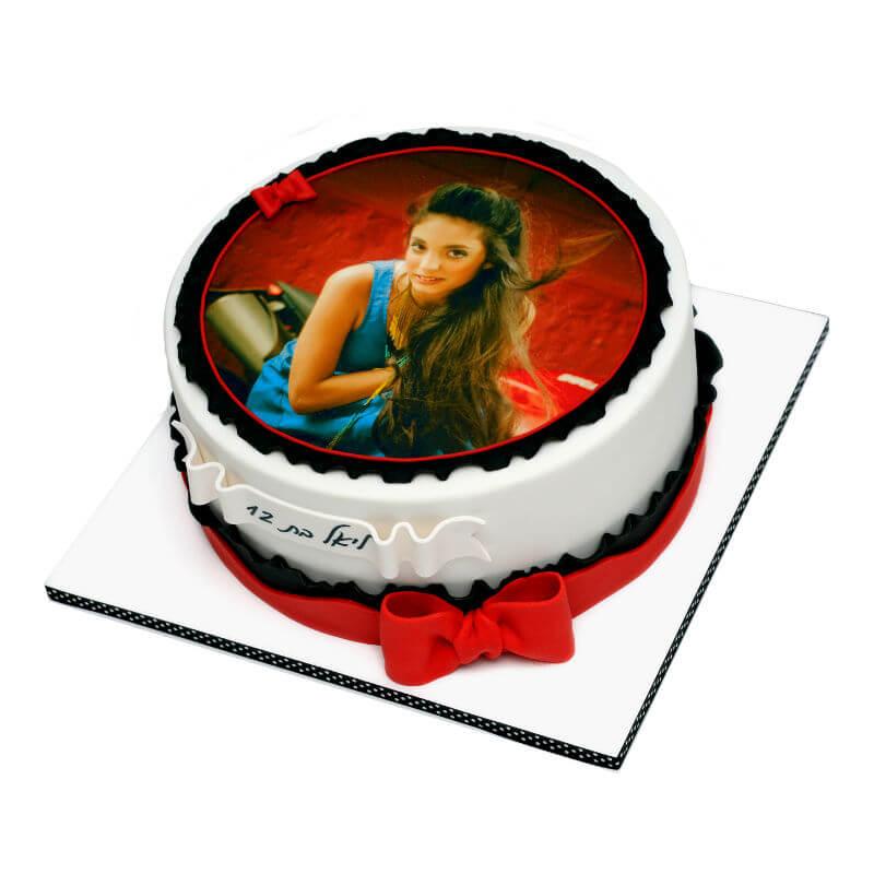 בת מצווה עוגת תמונה