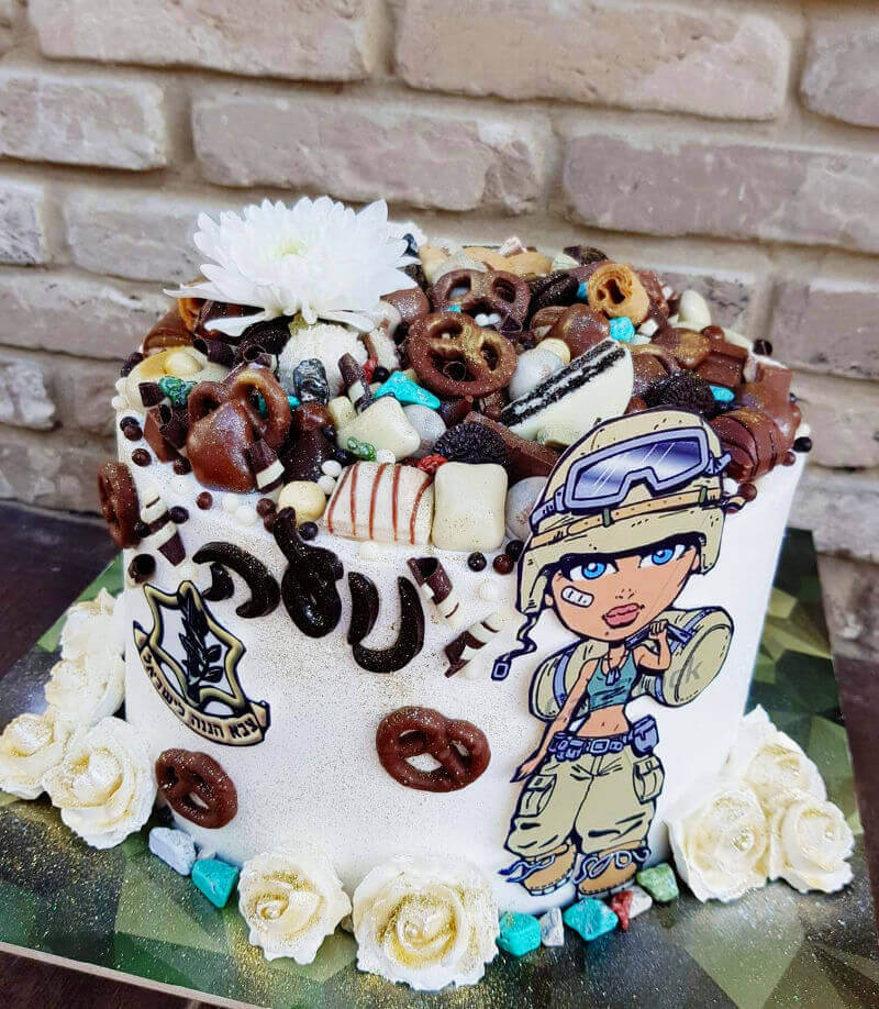 גיוס קל עוגה מעוצבת