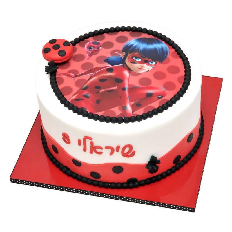 החיפושית המופלאה עוגת יום הולדת לבנות