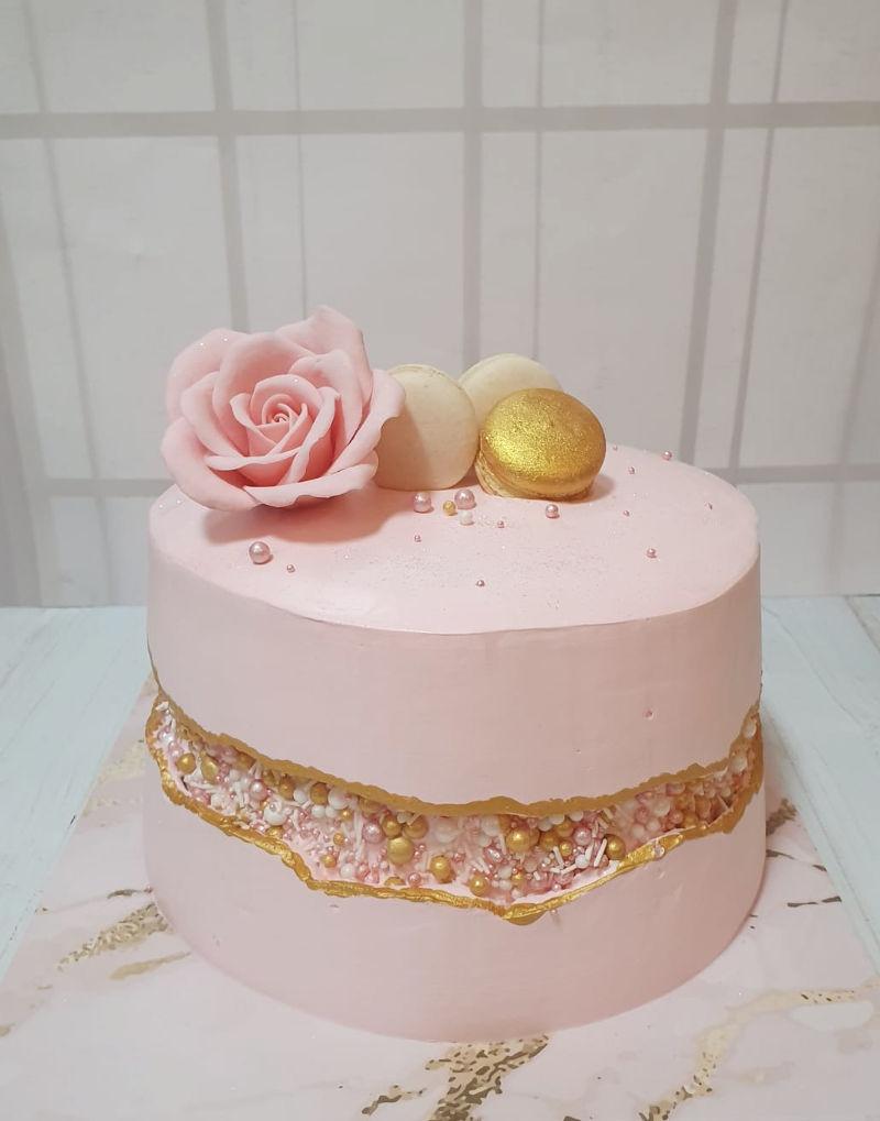 עוגת טרנד Fault-Line Cake
