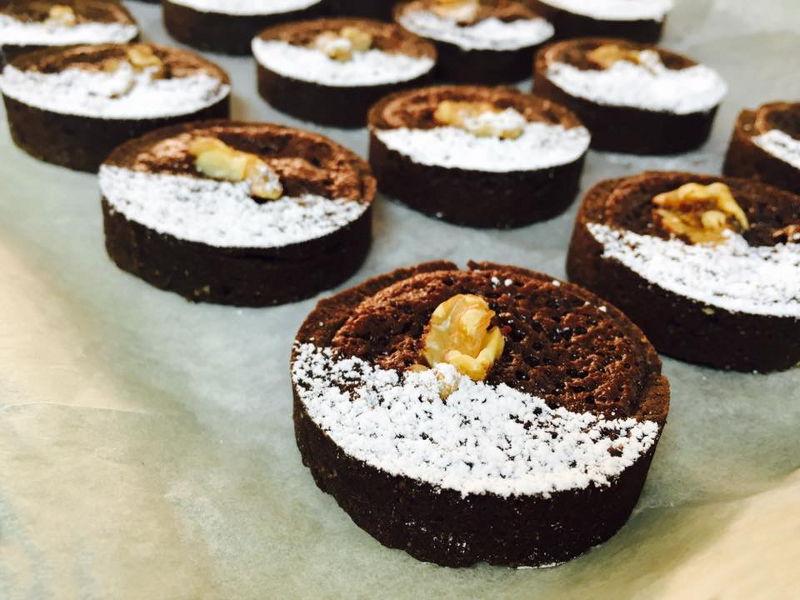 טארטלט שוקולד אגוזים