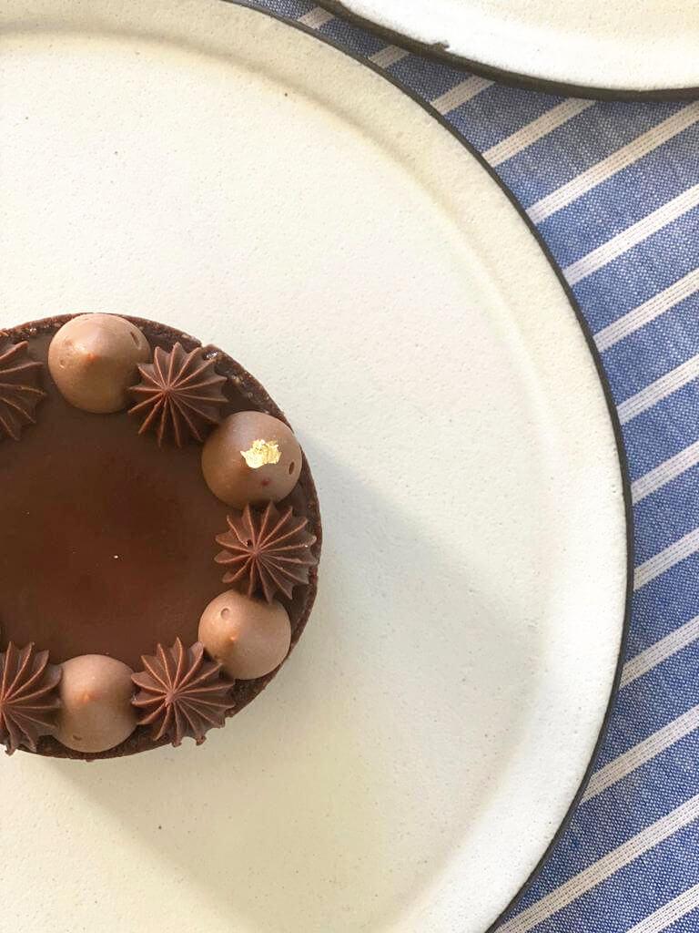 טארט מוס שוקולד