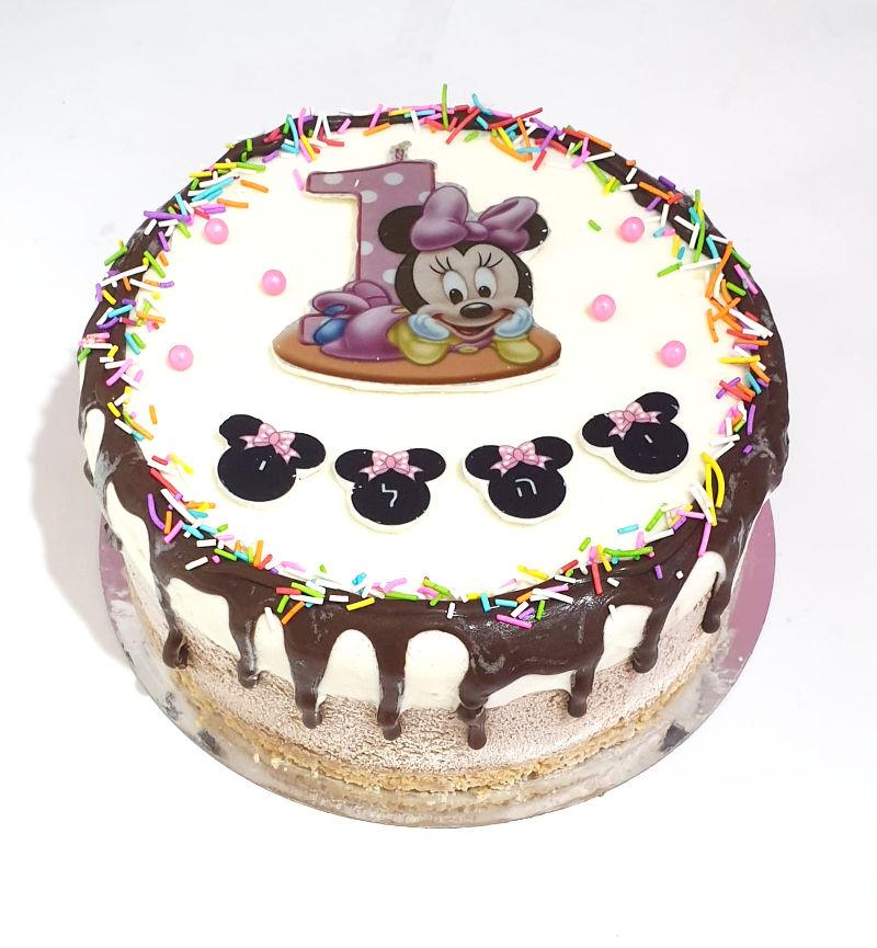 עוגת טריקולד טיפטופים מיני מאוס