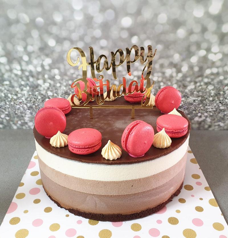 טריקולד מעוצב עם ממתקים ליום הולדת