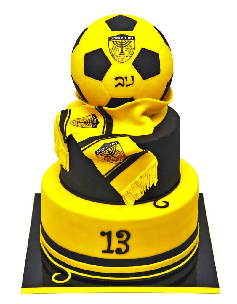 כדורגל עוגת בר מצווה של ביתר ירושלים