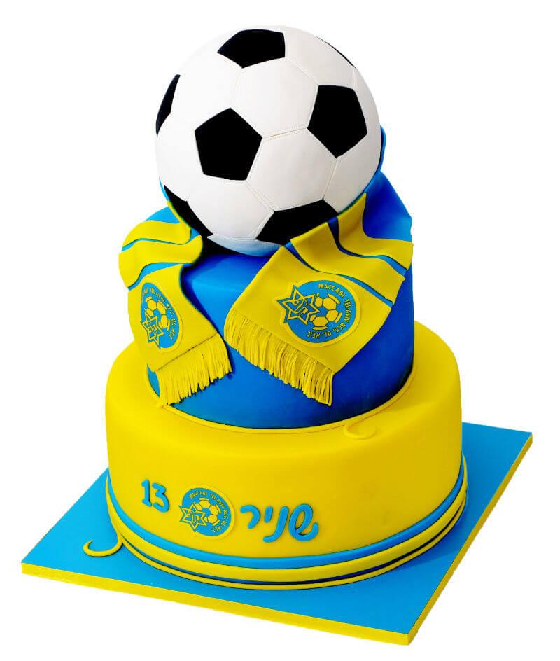 כדורגל עוגת בר מצווה של מכבי תל אביב