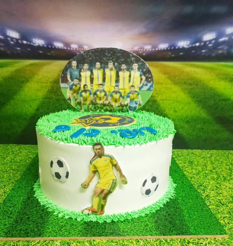 כדורגל עוגת מכבי נתניה