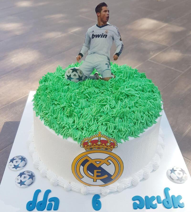 כדורגל עוגת ריאל מדריד