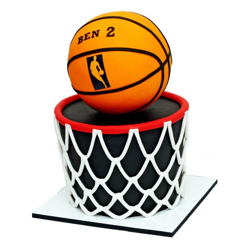 כדורסל עוגה מעוצבת