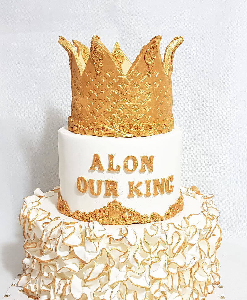 עוגת כתר של לואי ויטון