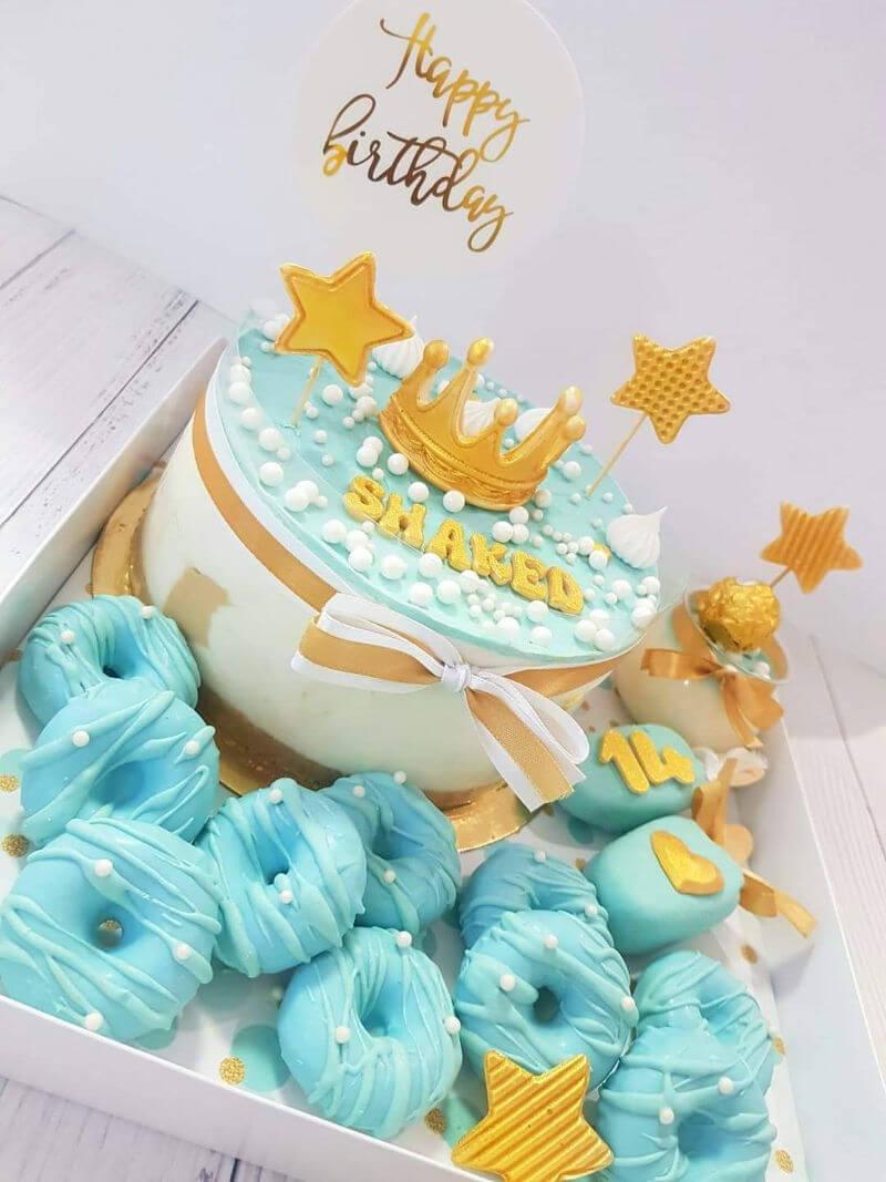 מארז יום הולדת מתוק לבן