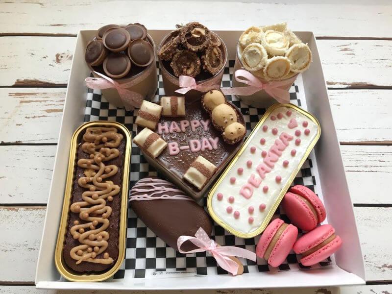 מארז יום הולדת מתוק לבנות