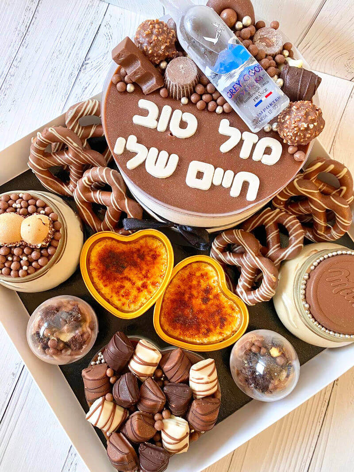 מארז יום הולדת שוקולדי