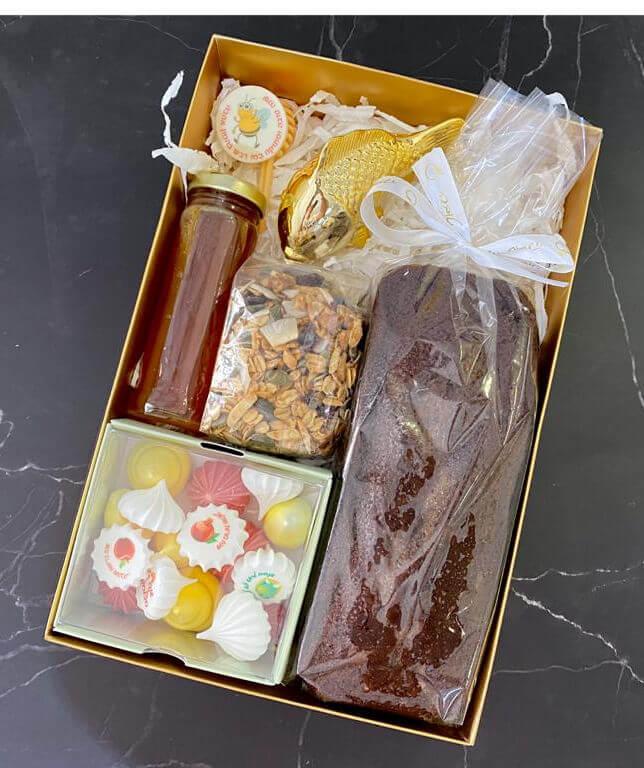 מארז נשיקות ושוקולדים לראש השנה