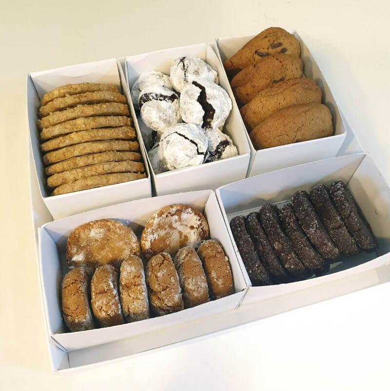 מארז עוגיות בוטיק עם תעודת כשרות