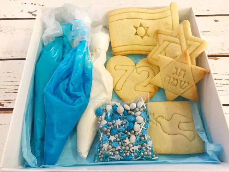 מארז עוגיות ליום העצמאות