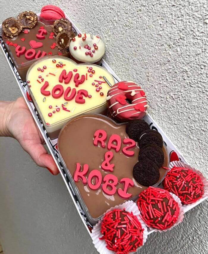 מארז פינוקים מתנה ליום האהבה
