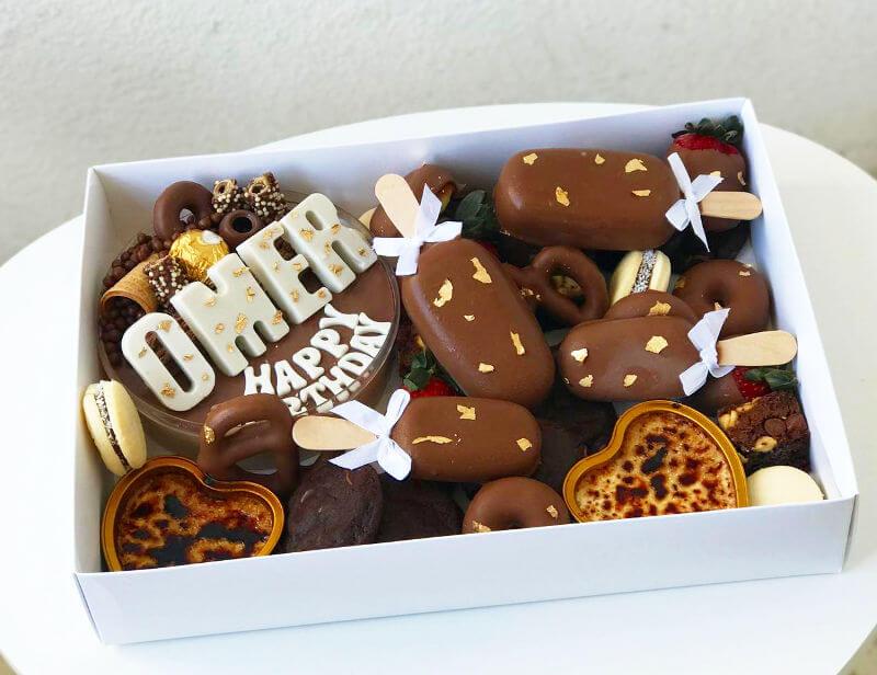 מארז קינוחים שוקולדי ענק