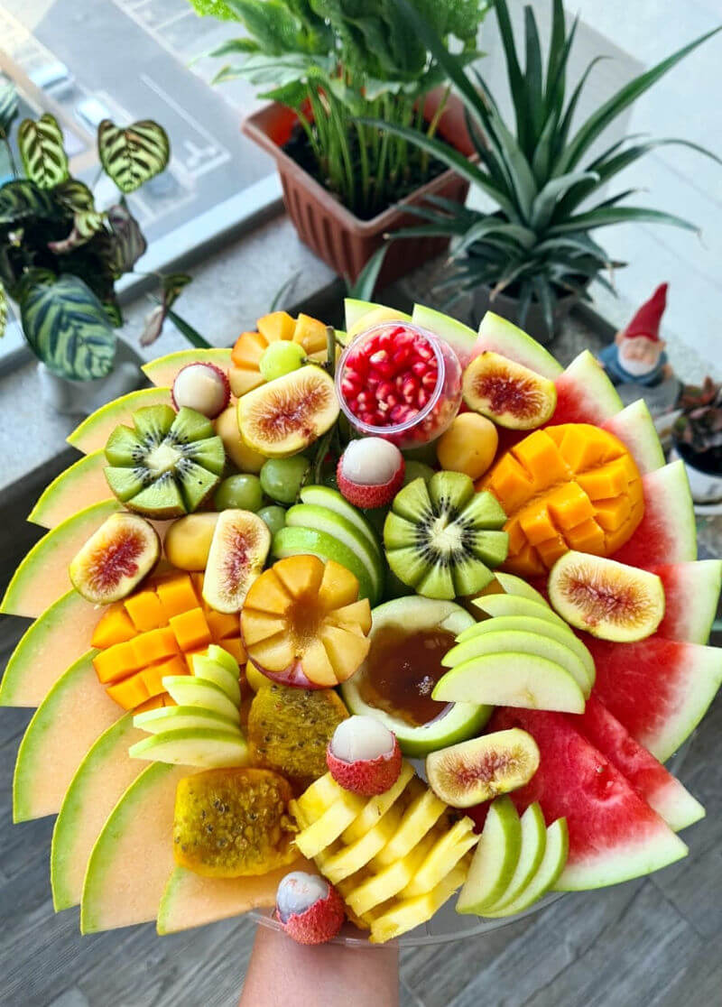 מגש פירות עם משלוח