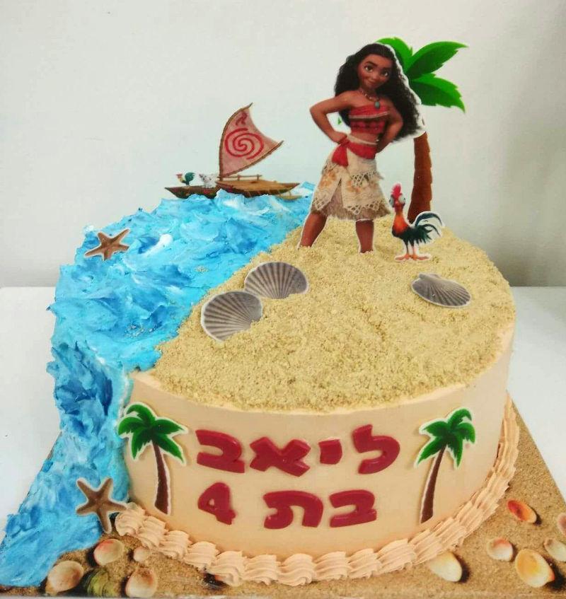 מואנה עוגת זילוף