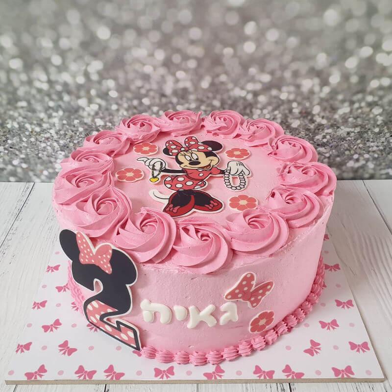 מיני מאוס עוגת יום הולדת