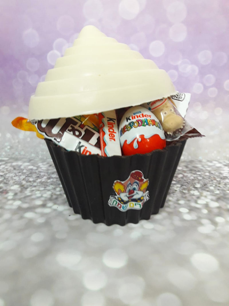 משלוח מנות מעוצב בשוקולד