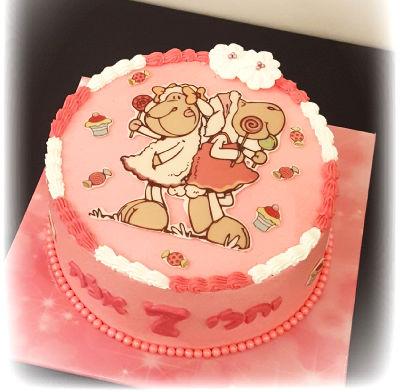 ניקי עוגת זילוף