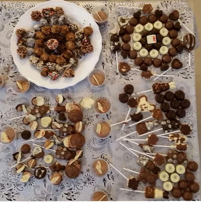סדנת שוקולד תוצרים
