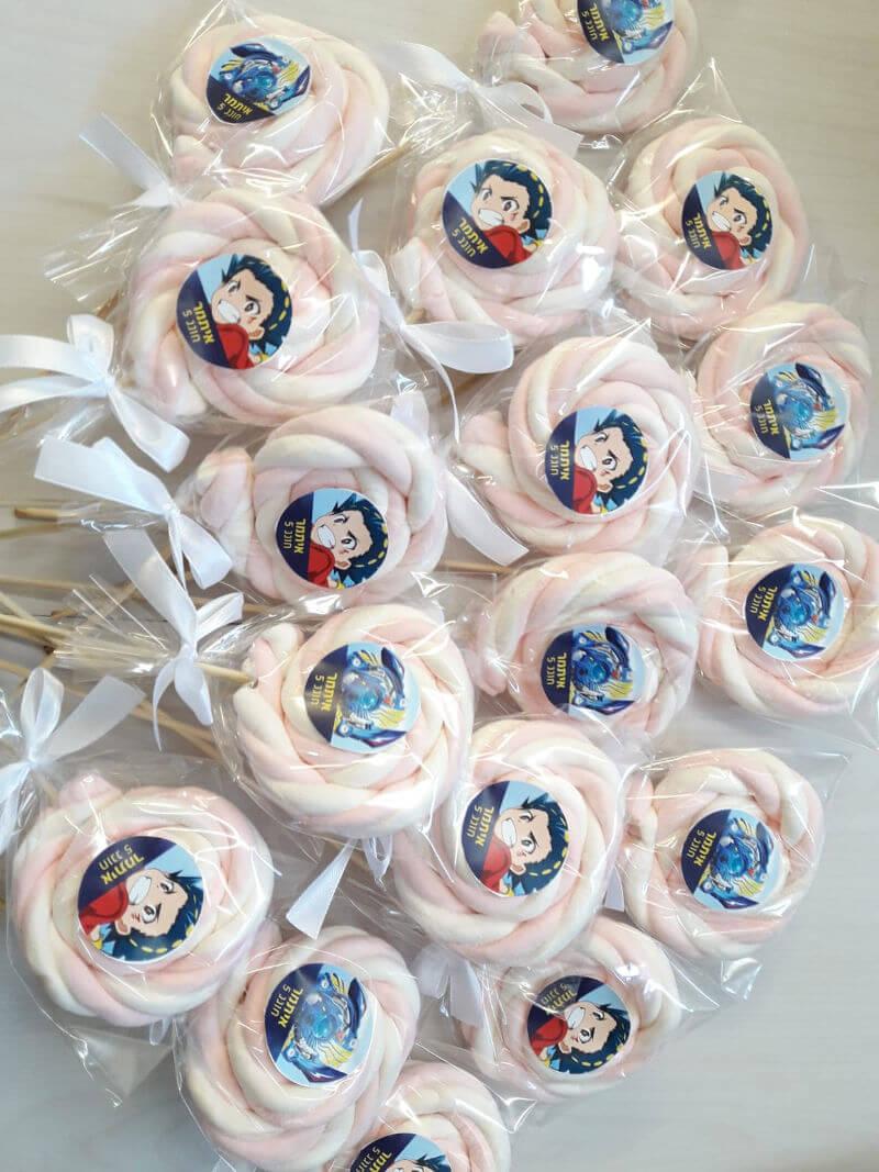 סוכריות בייבלייד ליום הולדת
