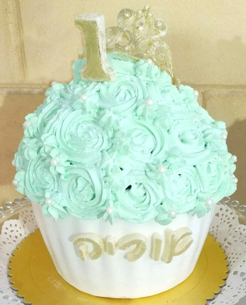 עוגת סמאש קייק מיוחדת לבן