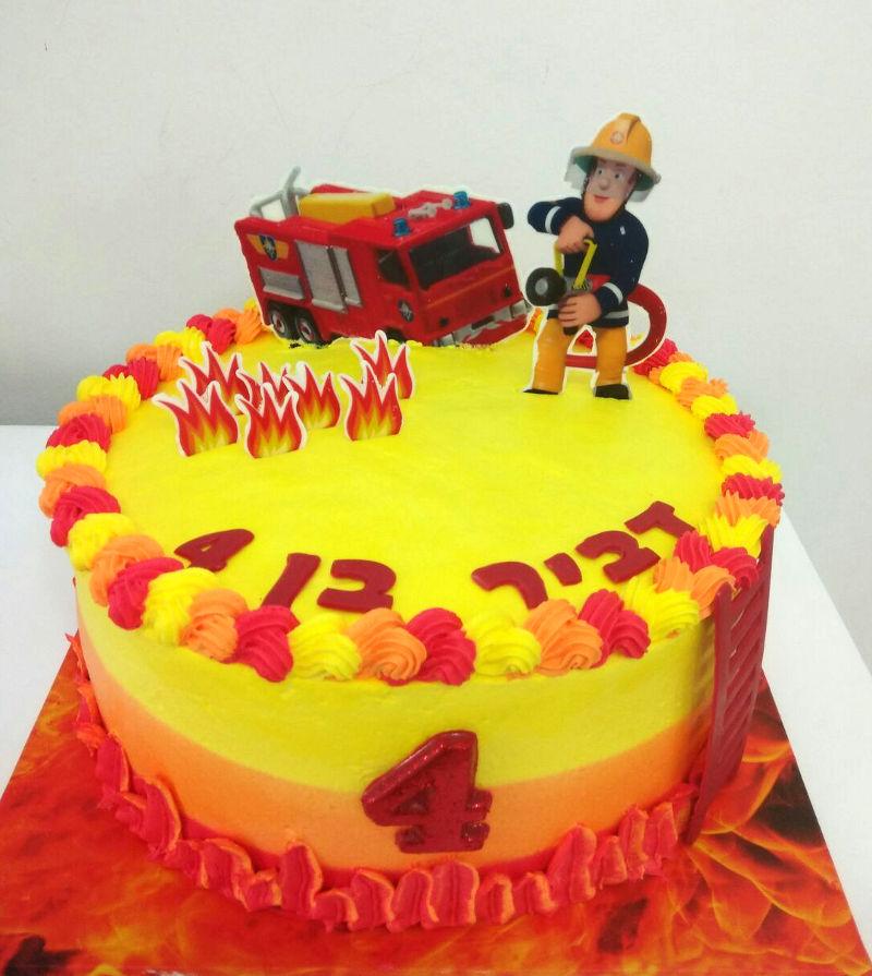 סמי הכבאי עוגת זילוף