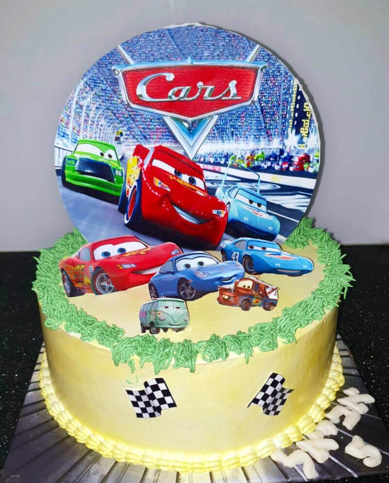 ספידי עוגת מכוניות