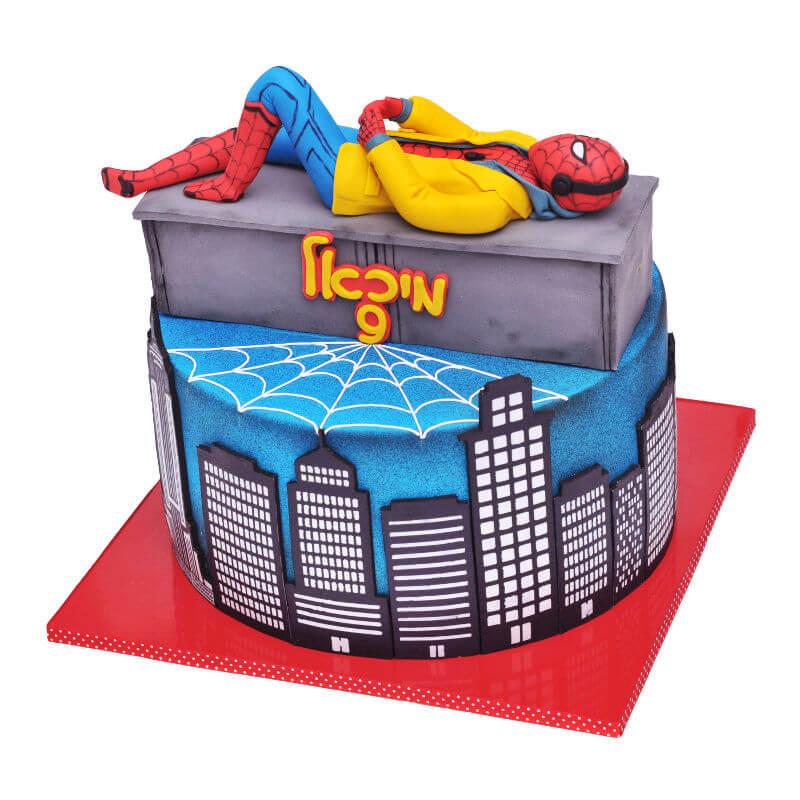 ספיידרמן עוגת יום הולדת בנים