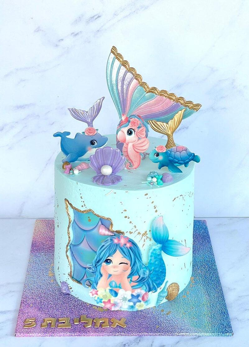 עוגה בעיצוב בת ים
