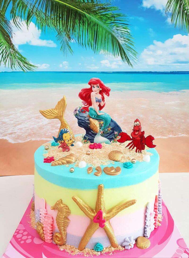 עוגה בת הים ליום הולדת
