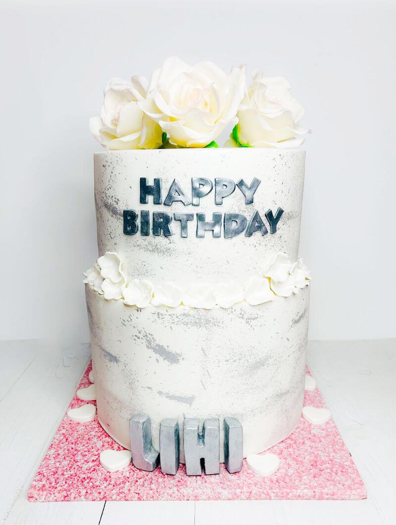 עוגה חגיגית וכשרה לבת מצווה