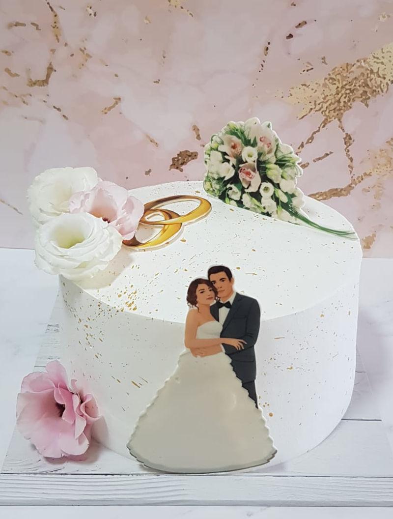 עוגה חגיגית לחתונה