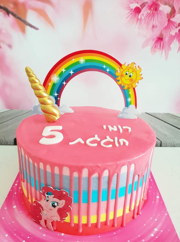 עוגה חד קרן חדש
