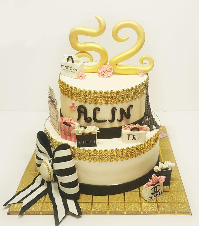 עוגת יום הולדת לאשה שופינג