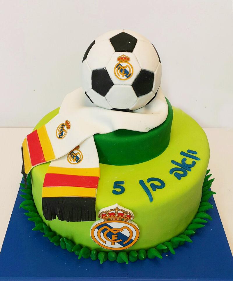 עוגה כדורגל ריאל מדריד