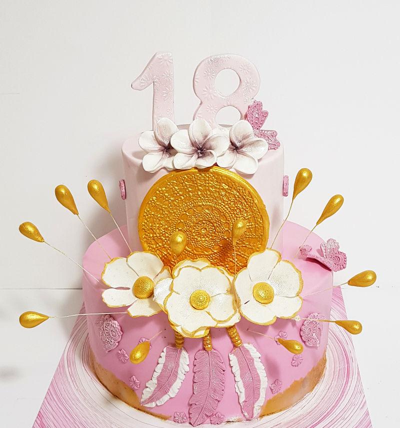 עוגה כשרה לגיל 18