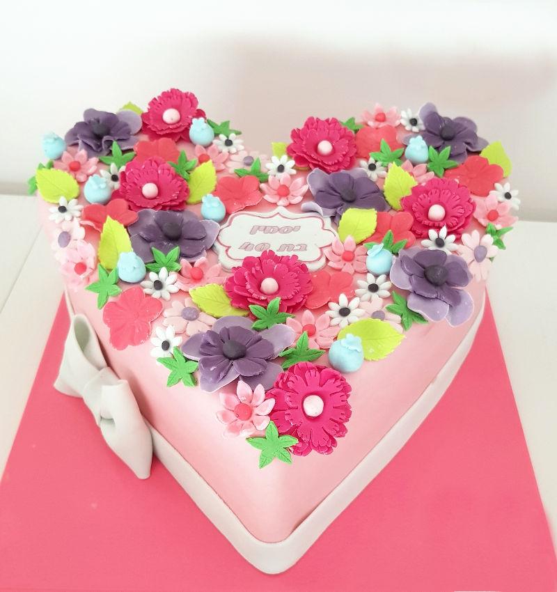 עוגה לאשה לגיל 40