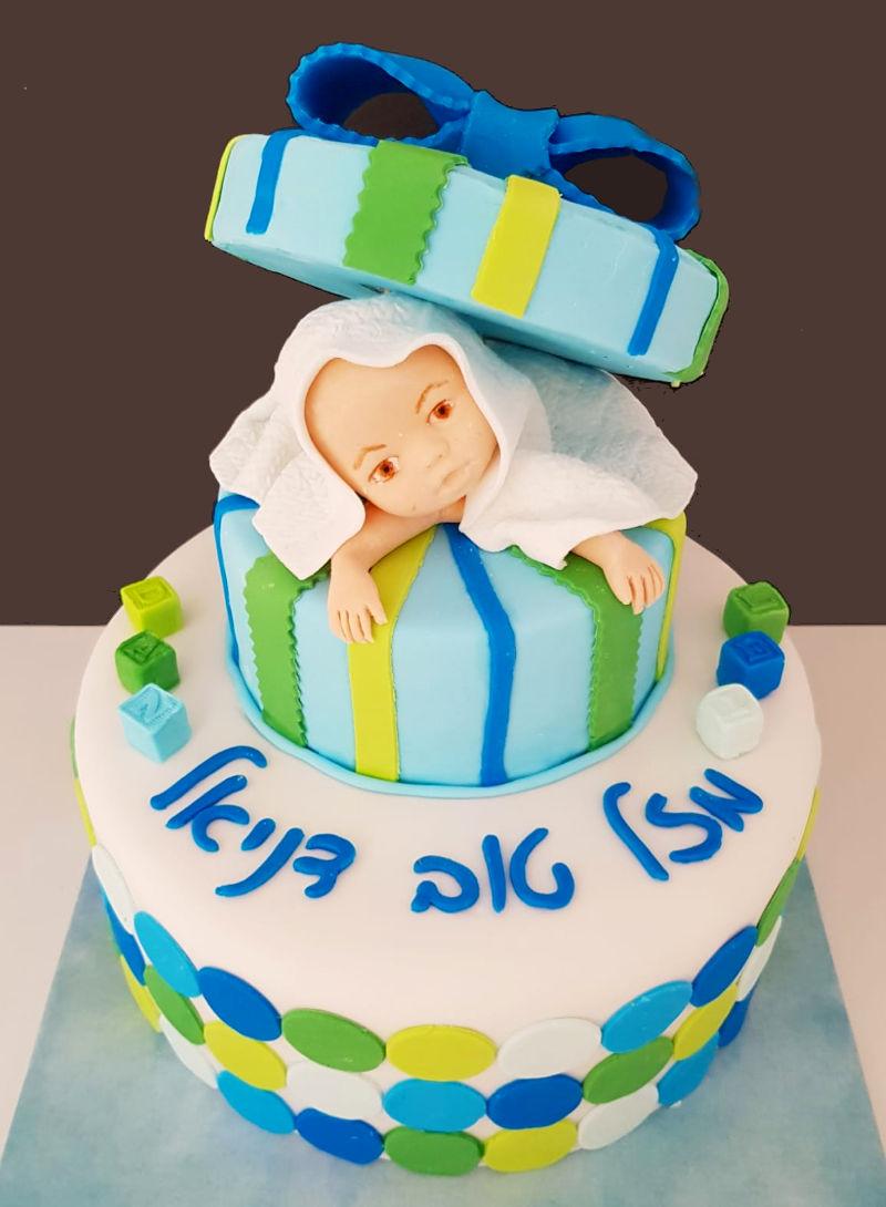 עוגה לברית לבן