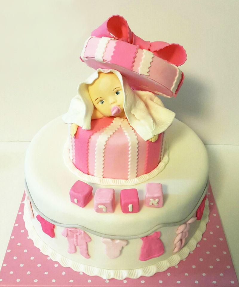 עוגה לברית לבת