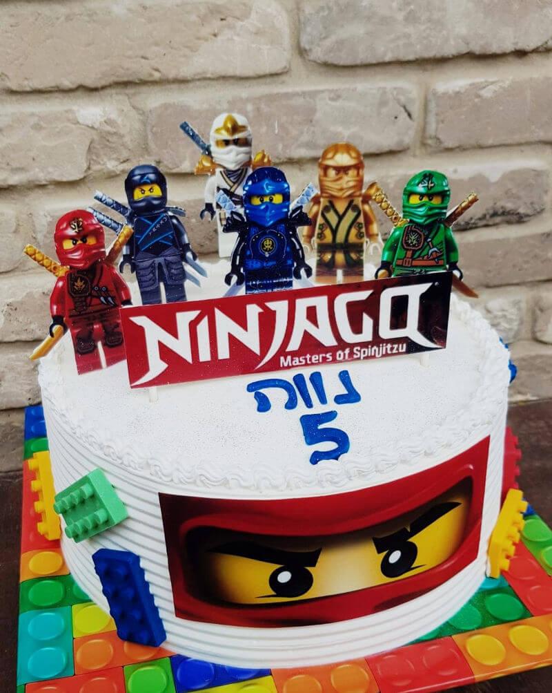 עוגה לגו נינגגו