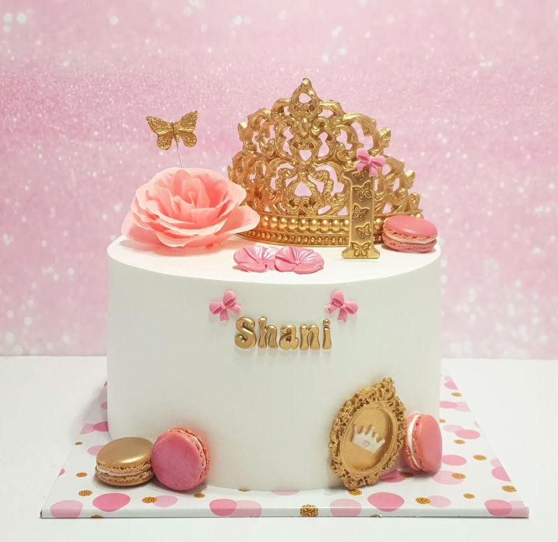 עוגה לגיל שנה לנסיכה
